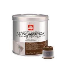 Illy iperespresso capsules monoarabica Brazilië (21st)