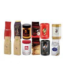 Proefpakket koffiebonen 12 soorten (3 kg)