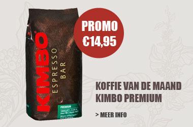 Kimbo premium koffiebonen