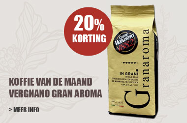 Koffie van de maand - vergnano gran aroma